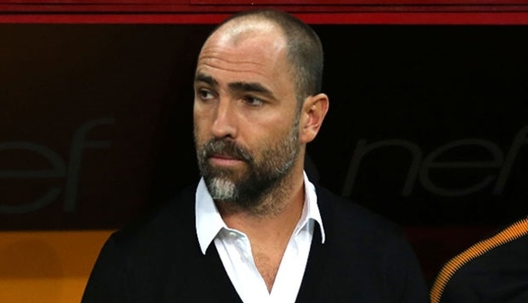 Galatasaray'da Igor Tudor'un Akhisarspor maçında devre arası konuşması