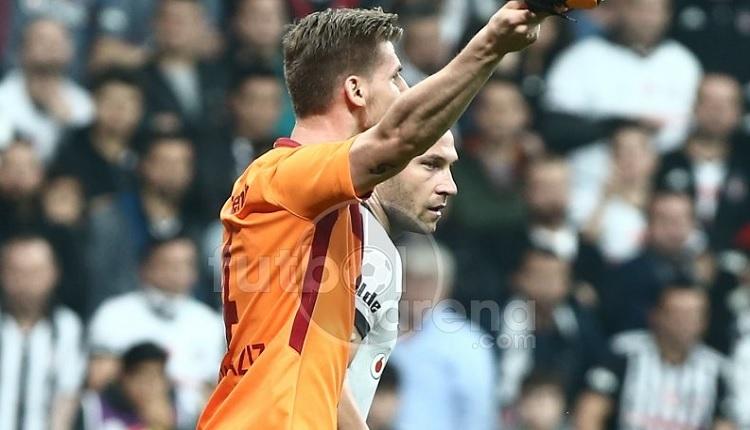 Galatasaray'da Serdar Aziz'in Beşiktaş derbisinde penaltı isyanı