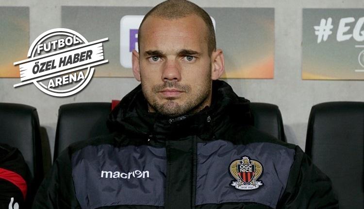 Galatasaray'da Sneijder için transfer açıklaması