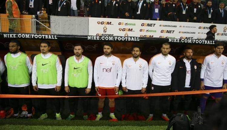 Galatasaray'da yedek kulübesi krizi!