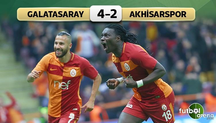 Galatasaray 4-2 Akhisarspor maç özeti ve golleri (İZLE)