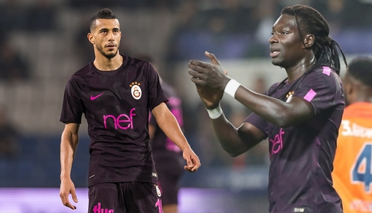 Galatasaray'ı Belhanda ve Bafetimbi Gomis taşıyor