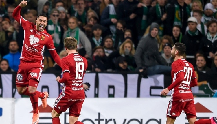 Galatasaray'ı eleyen Östersunds'tan Arsenal'a olay gönderme