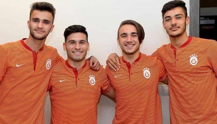 Galatasaray'ın gençleri Recep Gül ve Barış Zeren'den açıklamalar