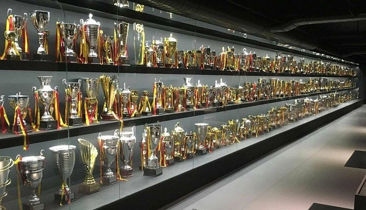 Galatasaray'ın müzesinden ilk görüntüler