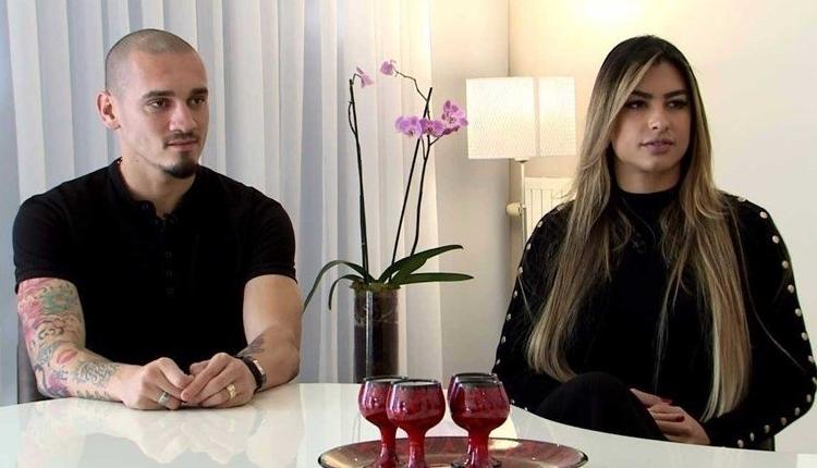 Galatasaraylı Maicon'un eşi Ursula'dan Tudor'a istifa mesajı