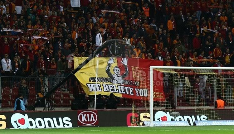 Galatasaraylı Muslera'dan taraftarlara teşekkür!