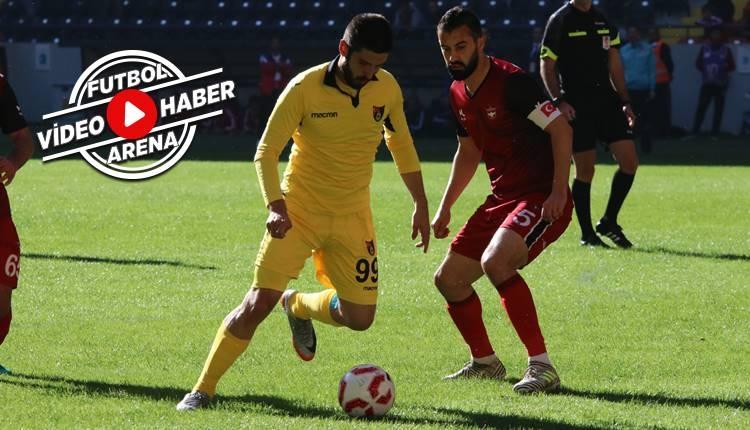 Gaziantepspor 1-1 İstanbulspor maçı özeti ve golleri (İZLE)
