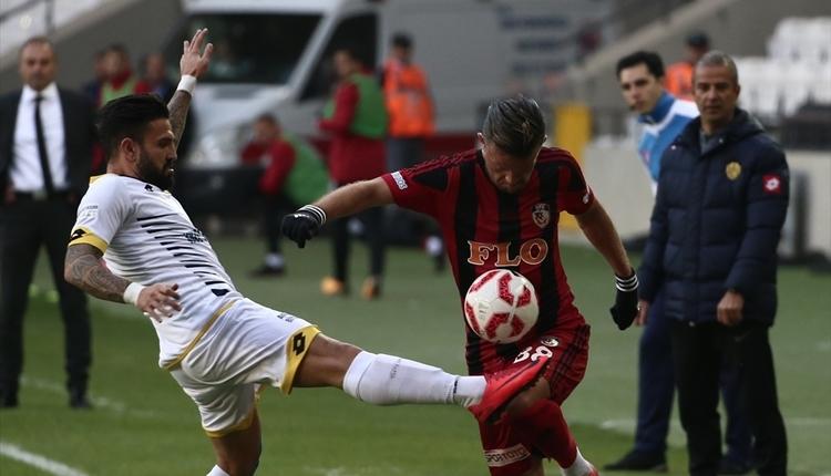 Gazişehir Gaziantep 2-2 Ankaragücü maç özeti ve golleri