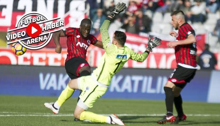 Gençlerbirliği 0-0 Kasımpaşa maçı özeti (İZLE)