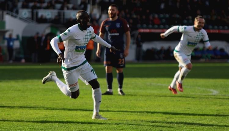 Giresunspor 3-1 Medipol Başakşehir maç özeti ve golleri (İZLE)
