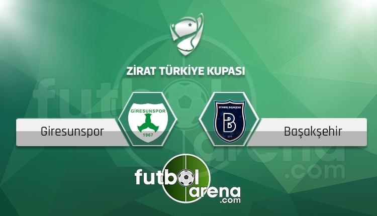 Giresunspor - Başakşehir maçı saat kaçta, hangi kanalda? (İddaa Canlı Skor)