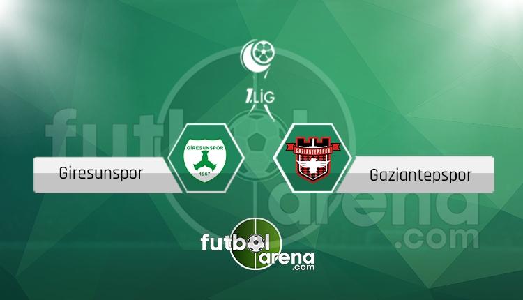 Giresunspor - Gaziantepspor maçı saat kaçta, hangi kanalda? (İddaa Canlı Skor)