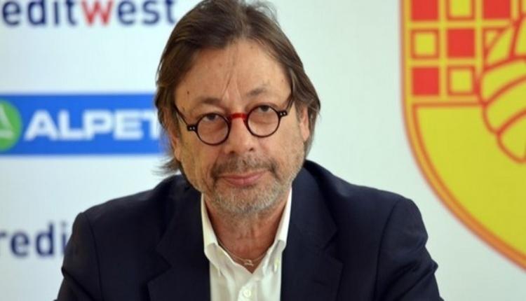 Göztepe'de Mehmet Serpil'den Galatasaray açıklaması