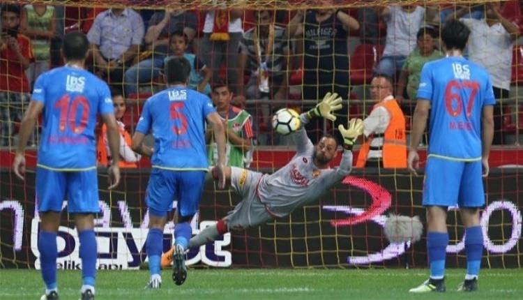 Göztepe'de penaltı canavarı Beto