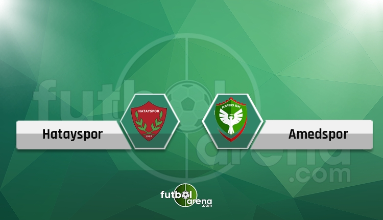 Hatayspor - Amedspor maçı saat kaçta hangi kanalda?