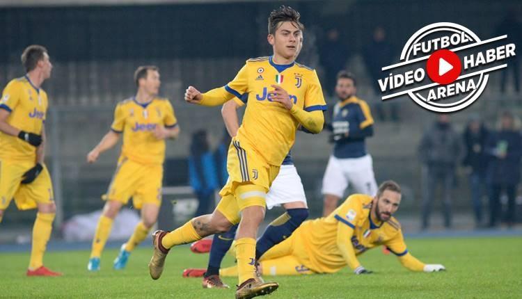 Hellas Verona 1-3 Juventus maçı özeti ve golleri (İZLE)