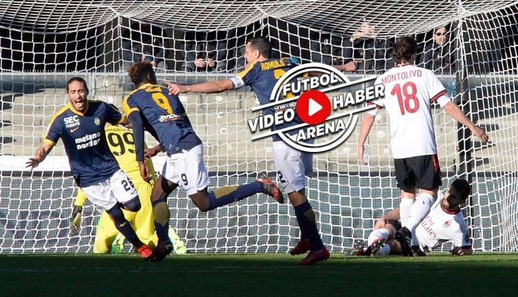 Hellas Verona 3-0 Milan maçı özeti ve golleri (İZLE)
