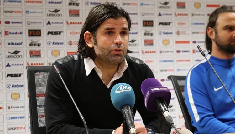 İbrahim Üzülmez'in Gazişehir Gaziantep maçı açıklaması