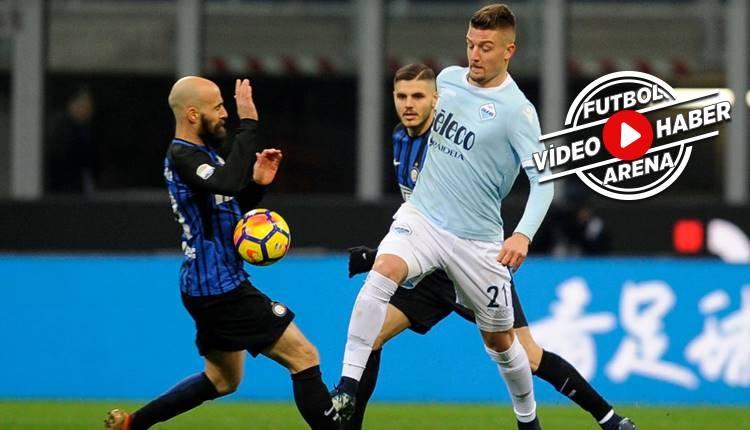 İnter 0-0 Lazio maçı özeti (İZLE)