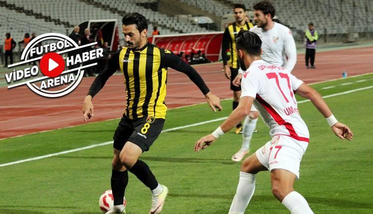 İstanbulspor 1-0 Boluspor maçı özeti ve golü (İZLE)