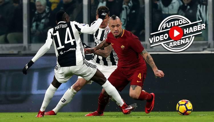 Juventus 1-0 Roma maçı özeti ve golü (İZLE)