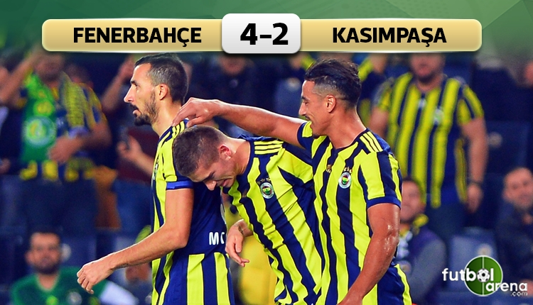 Fenerbahçe 4-2 Kasımpaşa maç özeti ve golleri (İZLE)