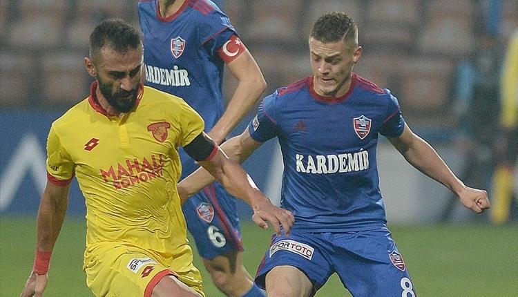 Karabükspor 0-1 Göztepe maç özeti ve golleri (İZLE)