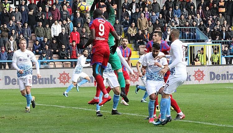 Karabükspor 1 - 1 Trabzonspor maç özeti ve golleri (İZLE)