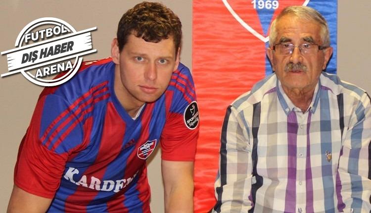 Karabükspor kalecisi Rybka:
