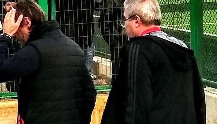 Kartalspor taraftarları teknik direktörü yaraladı! Maç tatil edildi