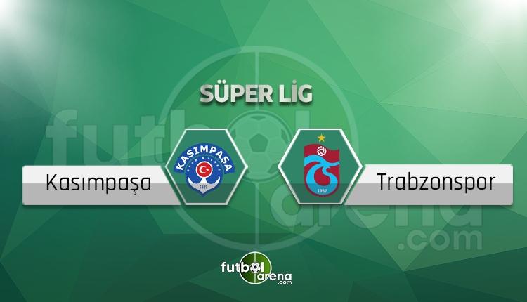 Kasımpaşa - Trabzonspor saat kaçta, hangi kanalda? (İddaa Canlı Skor)