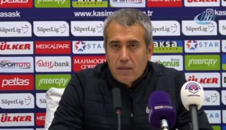 Kasımpaşa'da Kemal Özdeş'ten Trabzonspor itirafı! 'Pahalıya mal oldu'