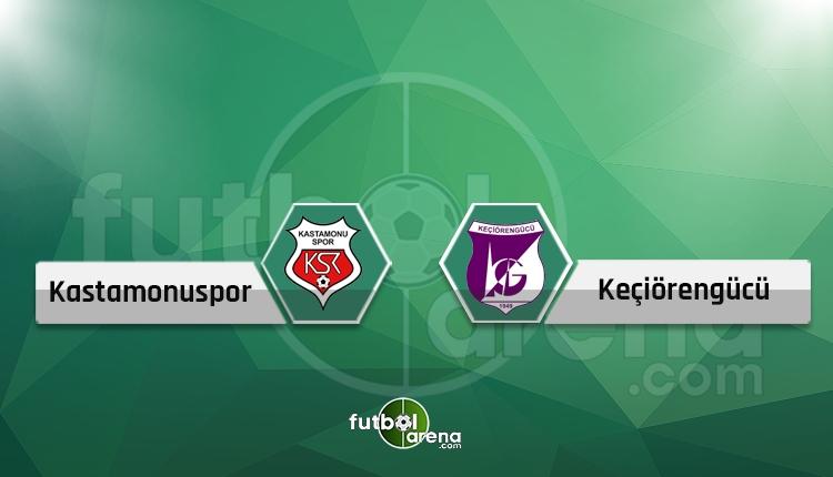 Kastamonuspor - Keçiörengücü maçı canlı ve şifresiz İZLE