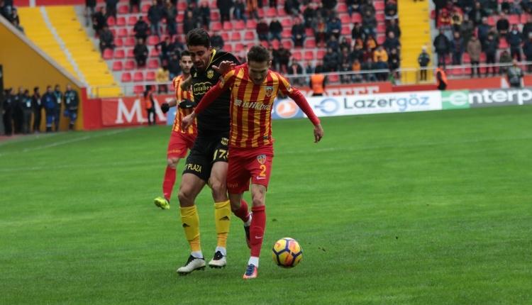 Kayserispor 0 - 1 Yeni Malatyaspor maç özeti ve golleri (İZLE)