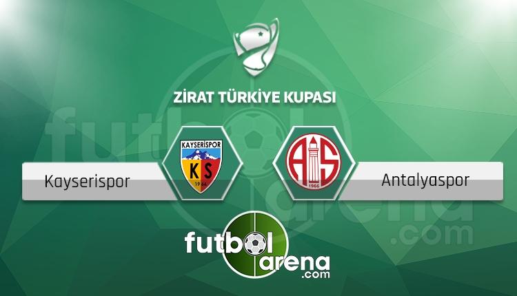 Kayserispor - Antalyaspor maçı saat kaçta, hangi kanalda? (İddaa Canlı Skor)