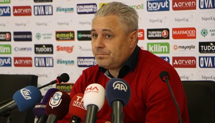 Kayserispor'da Marius Sumudica'dan transfer açıklaması