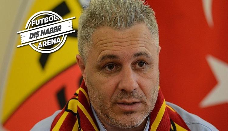 Kayserispor'da Sumudica Beşiktaş maçı öncesi Rumen basınına umutsuz konuştu