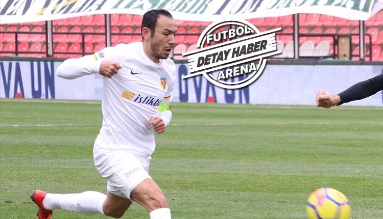 Kayserispor'da Umut Bulut, Galatasaray'daki başarılı performansına yaklaştı