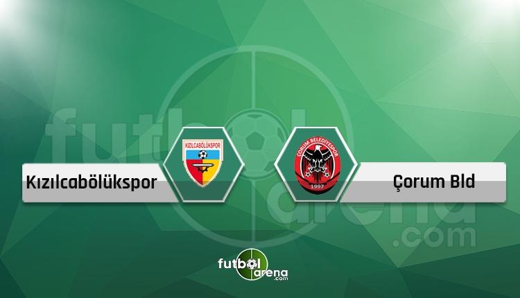 Kızılcabölükspor - Çorum Belediyespor canlı takip, maç hangi kanalda?