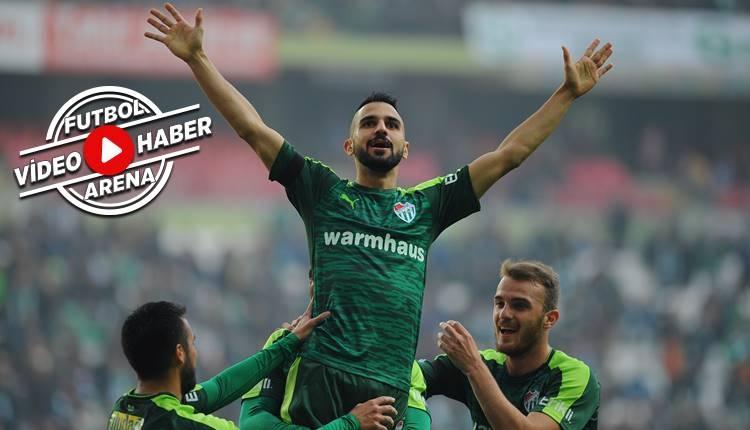 Konyaspor 0-3 Bursaspor maçı özeti ve golleri (İZLE)