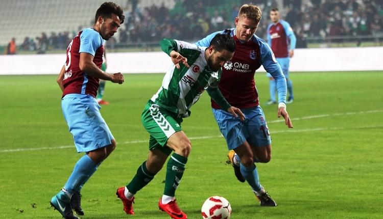 Konyaspor 1-0 Trabzonspor maç özeti ve golü (İZLE)