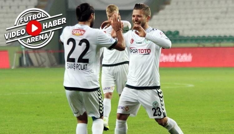Konyaspor 2-0 Batman Petrolspor maçı özeti ve golleri (İZLE)