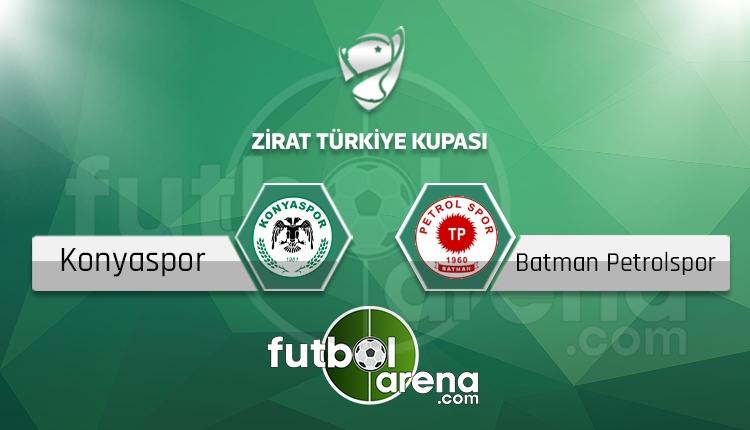 Konyaspor - Batman Petrolspor saat kaçta, hangi kanalda? (İddaa Canlı Skor)