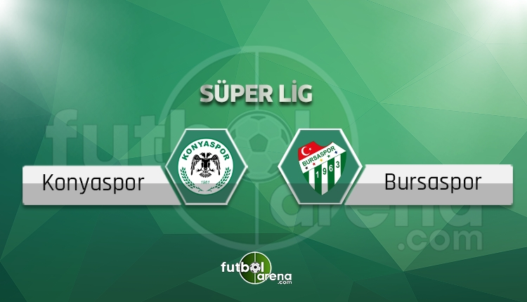 Konyaspor - Bursaspor maçı saat kaçta, hangi kanalda? (İddaa canlı skor)