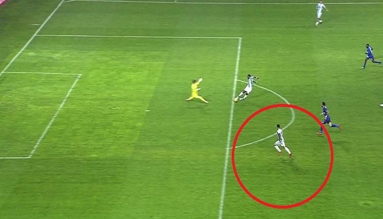 Konyaspor - Karabükspor maçında skandal hata! Sayılmayan gol