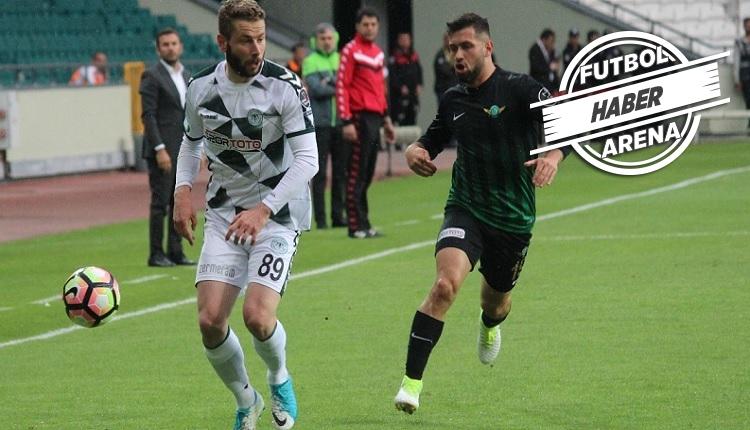 Konyaspor'da Bursaspor maçı öncesi Skubic belirsizliği
