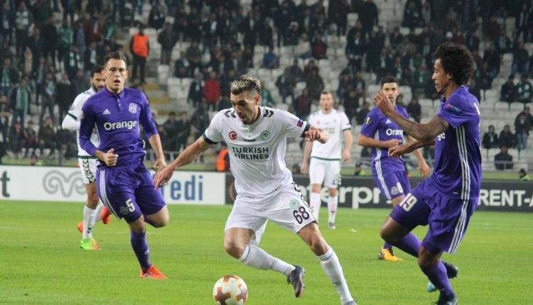 Konyaspor'da Mehdi fark yaratıyor