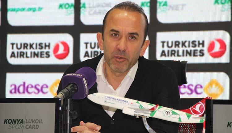 Konyaspor'da Mehmet Özdilek'ten futbolcularına tebrik