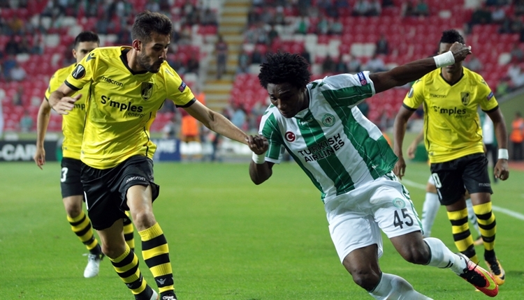 Konyaspor'da Mehmet Özdilek'ten Guimaraes maçında rotasyon kararı
